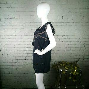 Rocks & Indigo Dresses - NWT Rocks & Indigo boho embroidered shift dress